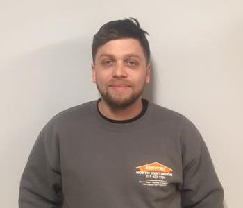 Male employee of Servpro of North Huntington