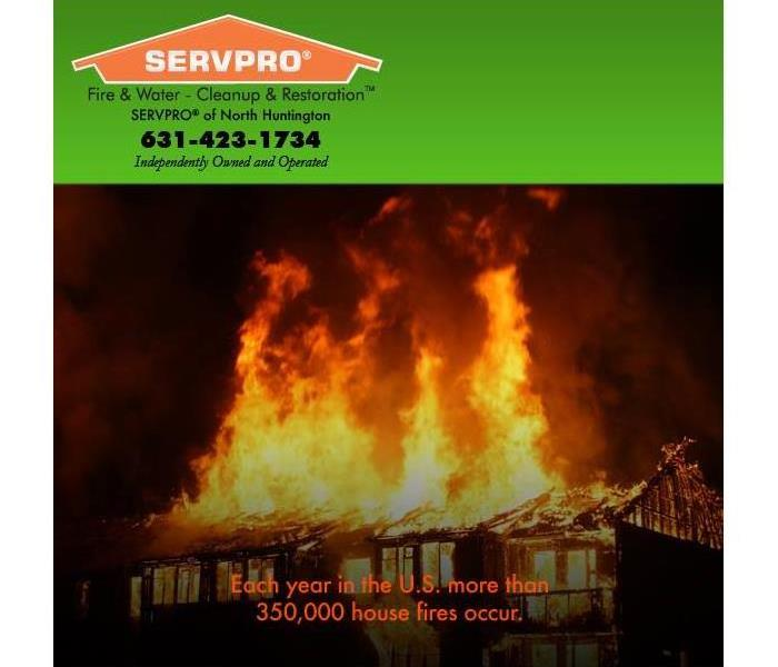 Fire Damage Fire Damage? SERVPRO of  North Huntington can help!